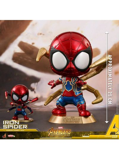 Cosbaby Iron Spider Cosbaby (L) Bobble-Head - COSB459