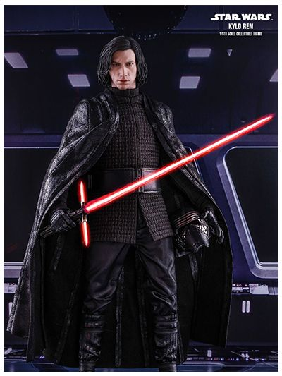 Hot Toys Star Wars: The Last Jedi - 1/6th scale Kylo Ren Collectible Figure - MMS438