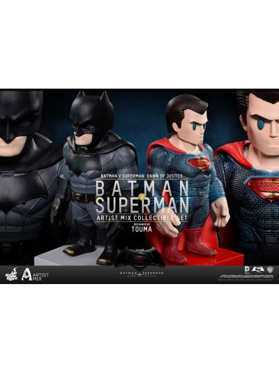 Cosbaby - Batman && Superman Collectible Set - AMC - AMC018-019
