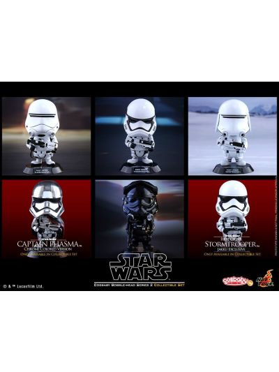 Cosbaby - Captain Phasma && 1st Order Storm Trooper (Jakku Exclusive) Collection - COSB239-243