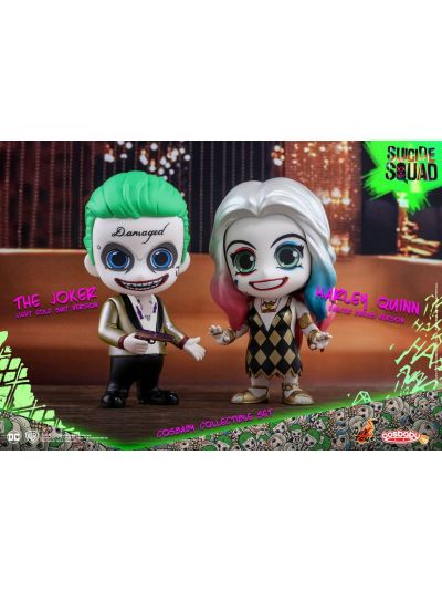 Cosbaby - The Joker (Light Gold Suit Version) and Harley Quinn (Dancer Dress Version) - COSB320