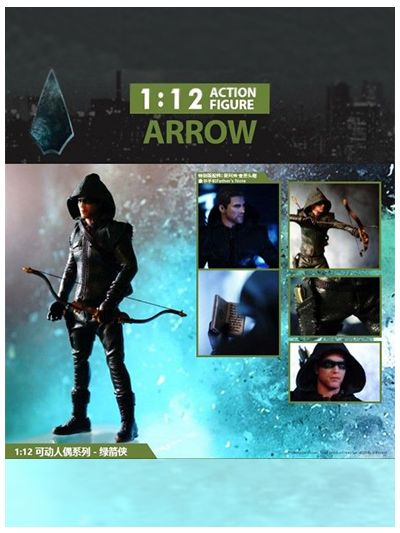 1:12 Action Figure Arrow Special Edition (with Bonus Parts for online exclusive & event sales) - FG002-SP