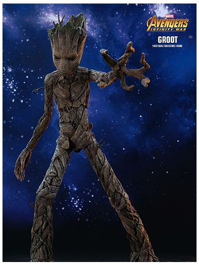 AVENGERS: INFINITY WAR GROOT 1/6TH SCALE COLLECTIBLE FIGURE - MMS475