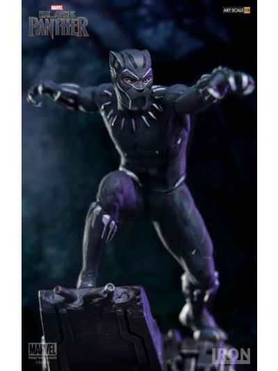 Iron Studios Black Panther:Black Panther BDS Art Scale 1/10 - MARCWR06817-10