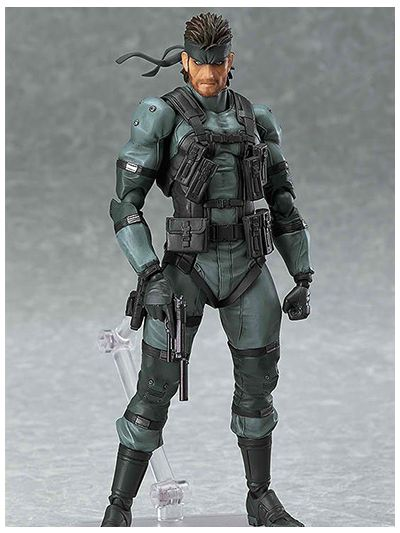 Metal Gear Solid figma No.243 Solid Snake - 23886