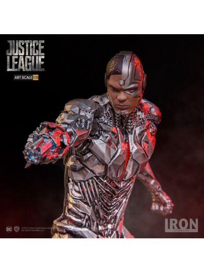 "IRON STUDIOS: ""JUSTICE LEAGUE"" CYBORG 1/10 ART SCALE STATUE - ISJL110"
