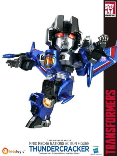 Transformers - Mecha Nations Thundercracker Exclusive - MN-10