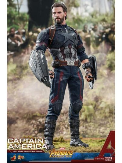 Hot Toys AVENGERS: INFINITY WAR CAPTAIN AMERICA 1/6TH SCALE COLLECTIBLE FIGURE - MMS480