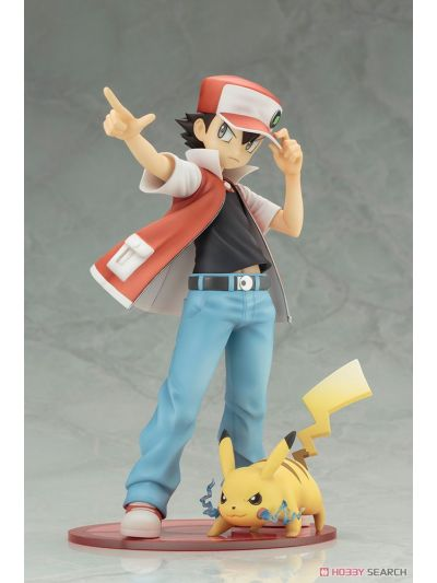 Kotobukiya Pokemon Red With Pikachu Artfx J Statue - PP656