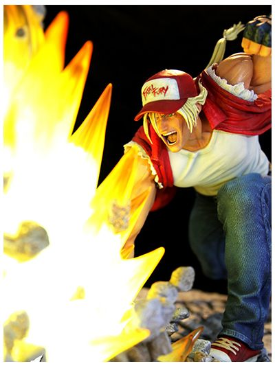 Terry Bogard The Lone Wolf 1/4 scale diorama - pr2018-0476