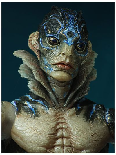 """Guillermo Del Toro Signature Collection 7"""" Scale AF - Shape of Water - Amphibian Man - 33156"""