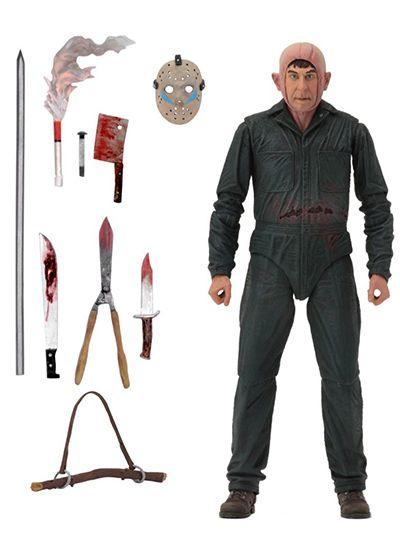 """Friday the 13th - 7"""" Scale AF - Ultimate Part 5 Roy Burns - 39721"""
