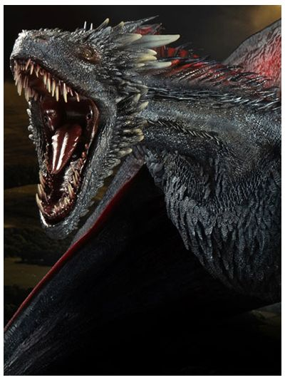 Game of Thrones Drogon 1/6 Scale Resin - pr-4897056201941