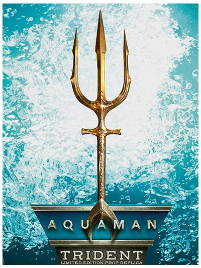 Aquaman Movie - Aquaman Trident Prop Replica - 408310