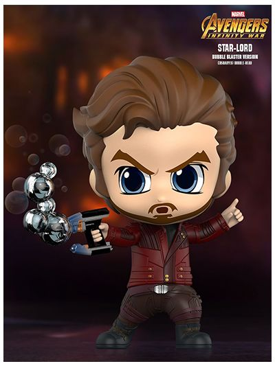 Star-Lord (Bubble Blaster Version) Cosbaby (S) Bobble-Head - COSB495