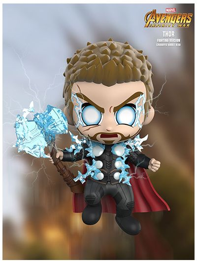 Thor (Fighting Version) Cosbaby (S) Bobble-Head - COSB502