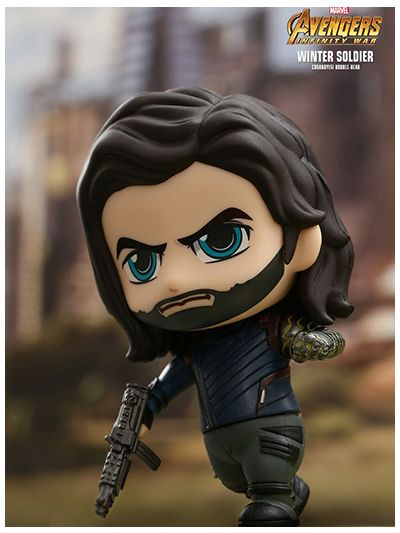 Winter Soldier Cosbaby (S) Bobble-Head - COSB466