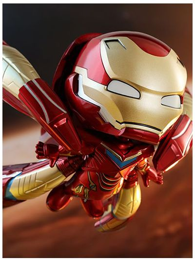 AVENGERS: INFINITY WAR IRON MAN MARK L (SUPER THRUSTER VERSION) COSBABY (S) BOBBLE-HEAD - COSB547