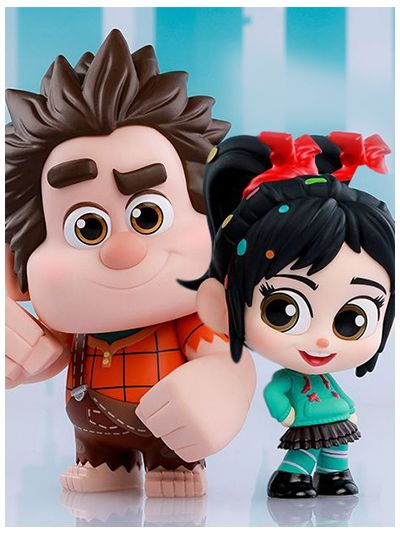 RALPH BREAKS THE INTERNET WRECK-IT RALPH & VANELLOPE VON SCHWEETZ COSBABY (S) SET - COSB539