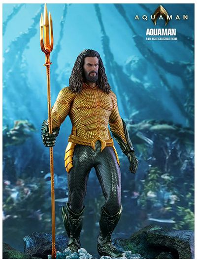 AQUAMAN: AQUAMAN 1/6TH SCALE COLLECTIBLE FIGURE - MMS518