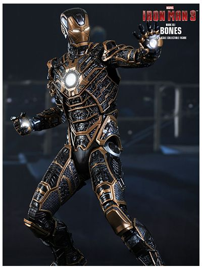 Iron Man 3: Iron Man Mark XLI 41 - Bones - MMS251