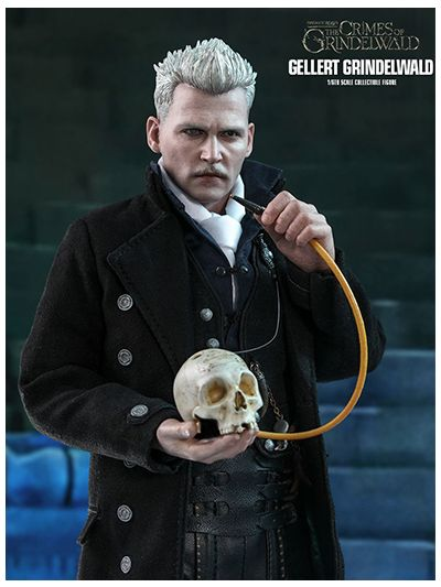 FANTASTIC BEASTS: THE CRIMES OF GRINDELWALD GELLERT GRINDELWALD 1/6TH SCALE COLLECTIBLE FIGURE - MMS513