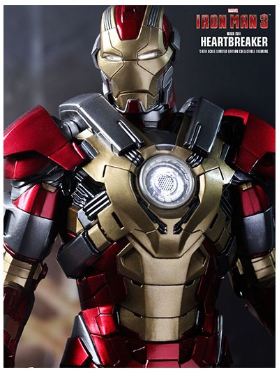 Iron Man 3: Iron Man Mark XVII 17 - Heart Breaker - MMS212