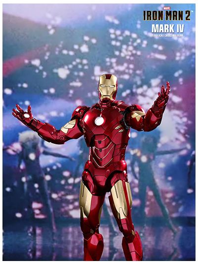 Iron Man 2 Mark IV 1/6th scale Collectible Figure - MMS461D21