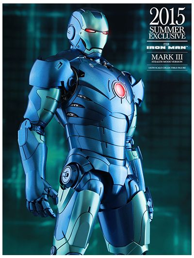 Iron Man - Iron Man Mark III 3 (Stealth Mode Version) - MMS314D12