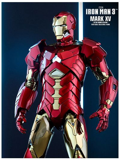 Iron Man 3: Iron Man Mark XV 15 Sneaky Retro (Shanghai Exclusive) - MMS396