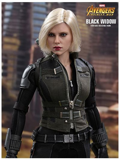 AVENGERS: INFINITY WAR BLACK WIDOW 1/6TH SCALE COLLECTIBLE FIGURE - MMS460
