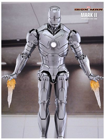 HOT TOYS IRON MAN: IRON MAN MARK II 1/6TH SCALE COLLECTIBLE FIGURE (SPECIAL EDITION)  (MARK 2) - MMS431D20SE