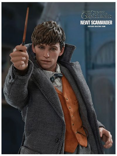 FANTASTIC BEASTS: THE CRIMES OF GRINDELWALD NEWT SCAMANDER 1/6TH SCALE COLLECTIBLE FIGURE - MMS512