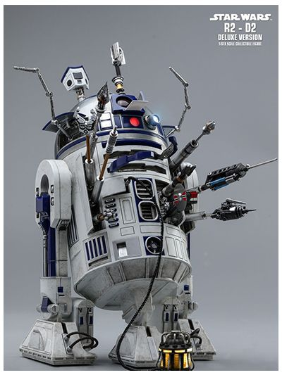 STAR WARS R2-D2 DELUXE VERSION 1/6TH SCALE COLLECTIBLE FIGURE - MMS511
