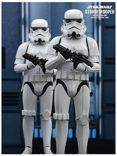 STAR WARS STORMTROOPER (DELUXE VERSION) 1/6TH SCALE COLLECTIBLE FIGURE - MMS515