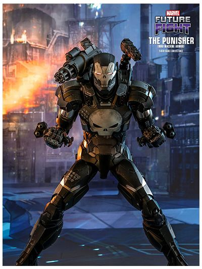 MARVEL FUTURE FIGHT THE PUNISHER (WAR MACHINE ARMOR) 1/6TH SCALE COLLECTIBLE FIGURE - VGM33D28