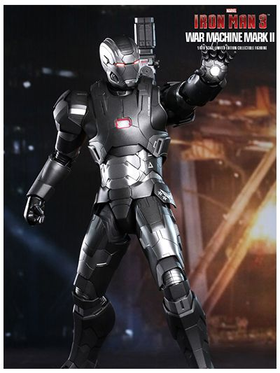 Iron Man 3: War Machine Mark II 2 (Special Edition) Diecast - MMS198D03SE