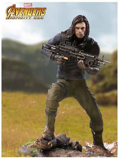 Winter Soldier BDS Art Scale 1/10 - Avengers: Infinity War - MARCWR09318-10