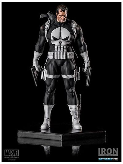 Punisher - 1/10 Art Scale Marvel Comics Series 3 - 12177