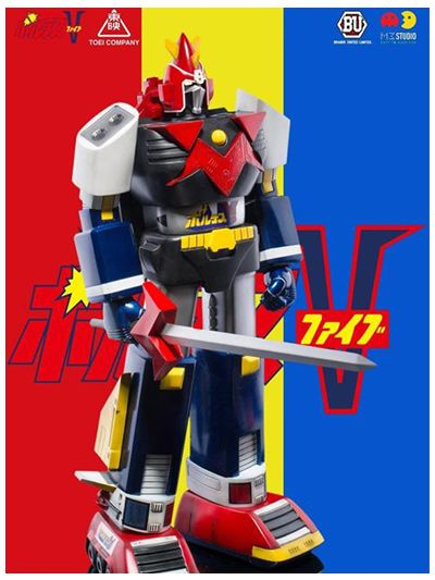 Voltes V 40th Anniversary Version 2 Respect Colors - pr2018-0423