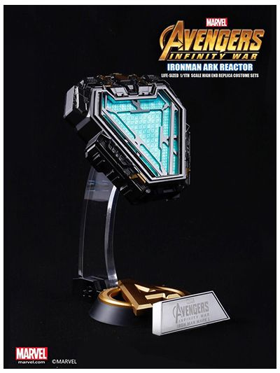 Avengers Infinity War- Iron Man Arc Reactor MARK L 50 - Marvel Licensed 1/1 Movie Prop Replica - pr2019-0008