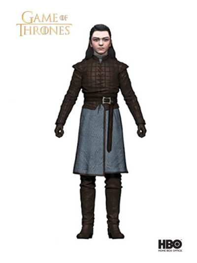 Game of Thrones 6'' Action Figure: Arya Stark - 10654-1