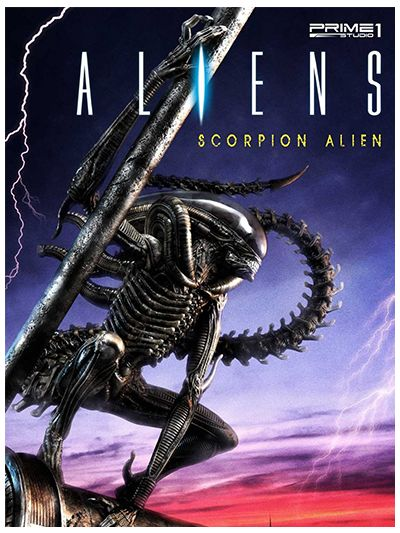 Aliens (Comics) Scorpion Alien - PMDHAL-01
