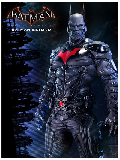 Batman Beyond: Batman Polystone Statue (Exclusive Version) - 902683E