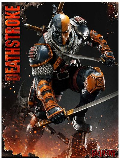 Batman (Comics) Deathstroke EX Version - MMDC-30EX