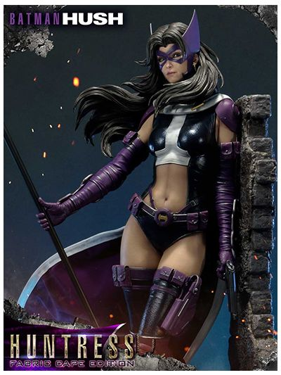 Batman: Hush (Comics) Huntress Fabric Cape - MMDCBH-04F