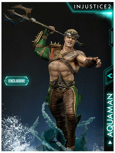Injustice 2 Aquaman  EX Version - PMDCIJ-01EX
