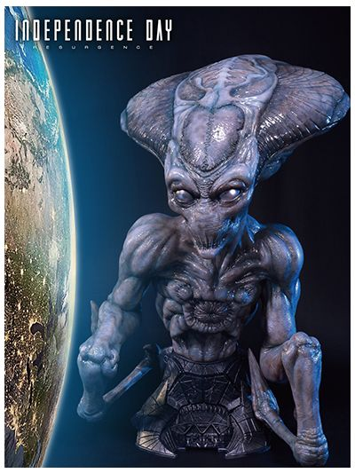 Independence Day: Resurgence Alien Bust - LSIDR-01