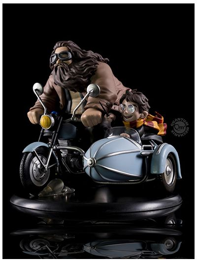 Quantum Mechanix Harry Potter and Rubeus Hagrid Limited Edition Q-Fig - HP-0110