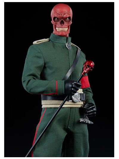 Marvel Comics Red Skull 1:6 Scale Figure - 100175